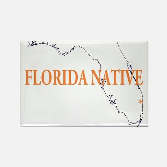 Florida Native Rectangle Magnet