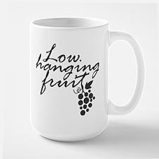 Low Hanging Fruit, Grapes, Wine Lover Mug