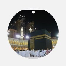 Kaaba Sharif Ornament (Round)