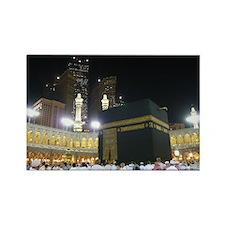 Kaaba Sharif Rectangle Magnet