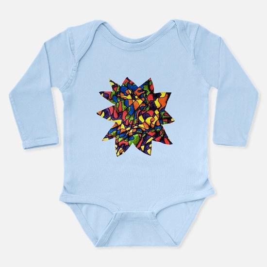 Rainbow Maze L/S Infant Bodysuit
