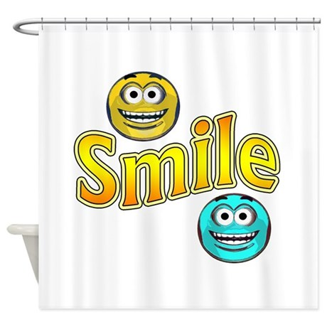 justsmile Shower Curtain