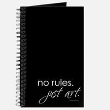 No Rules. Just art. Journal