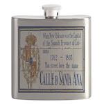 Santa Anna Tile Flask