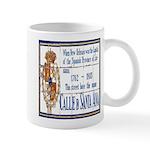 Santa Anna Tile Mug