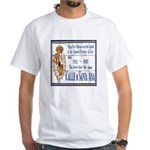 Santa Anna Tile White T-Shirt