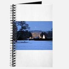 white house snow Journal