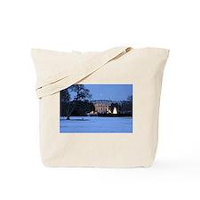 white house snow Tote Bag