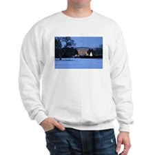 white house snow Sweatshirt