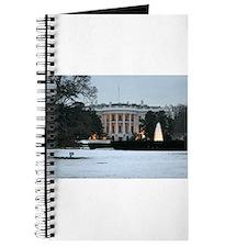 white house snow Journal