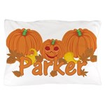 Halloween Pumpkin Parker Pillow Case