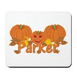 Halloween Pumpkin Parker Mousepad