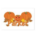 Halloween Pumpkin Parker Postcards (Package of 8)