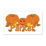 Halloween Pumpkin Parker 20x12 Wall Decal