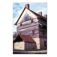 Old Salem Building Postcards (Package of 8)