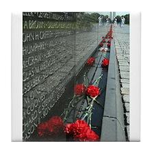 Vietnam Veterans Memorial with Washington Monument