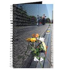 Vietnam Veterans Memorial Wall Rose Journal
