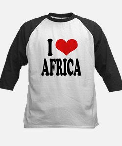 iloveafricablk.png Tee