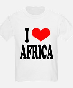iloveafricablk.png T-Shirt