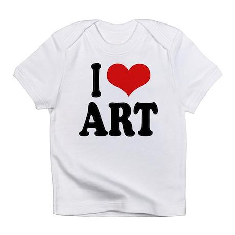 iloveartblk.png Infant T-Shirt