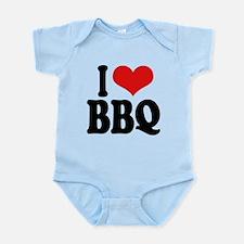 ilovebbqblk.png Infant Bodysuit
