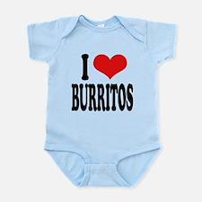 iloveburritosblk.png Infant Bodysuit