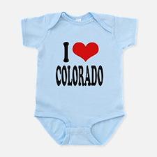 ilovecoloradoblk.png Infant Bodysuit