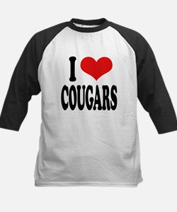 ilovecougarsblk.png Tee