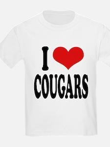 ilovecougarsblk.png T-Shirt
