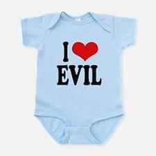 iloveevilblk.png Infant Bodysuit