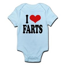 ilovefartsblk.png Infant Bodysuit
