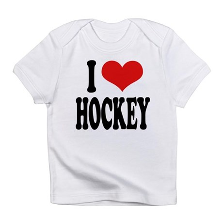 ilovehockeyblk.png Infant T-Shirt