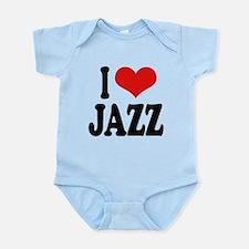 ilovejazzblk.png Infant Bodysuit