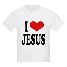 ilovejesusblk.png T-Shirt