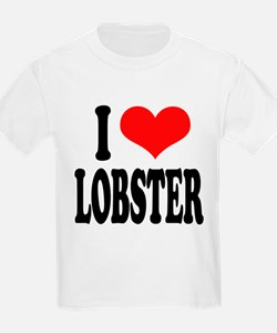 ilovelobsterblk.png T-Shirt