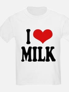 ilovemilkblk.png T-Shirt