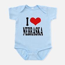 ilovenebraskablk.png Infant Bodysuit