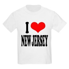 ilovenewjerseyblk.png Kids Light T-Shirt