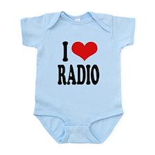 iloveradioblk.png Infant Bodysuit