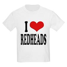 iloveredheadsblk.png T-Shirt