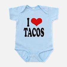 ilovetacosblk.png Infant Bodysuit