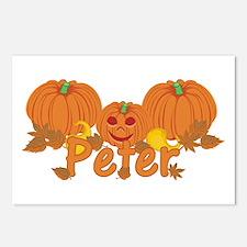 Halloween Pumpkin Peter Postcards (Package of 8)