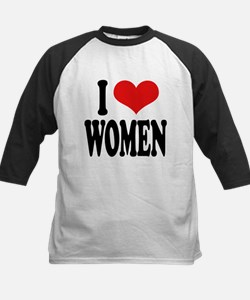 ilovewomenblk.png Tee