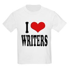 ilovewritersblk.png T-Shirt