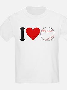 ilovebaseballblk.png T-Shirt