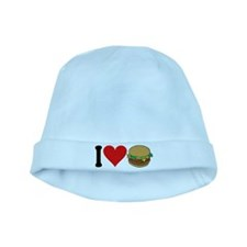 3-ilovehamburgersblk.png baby hat