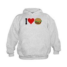 3-ilovehamburgersblk.png Hoodie
