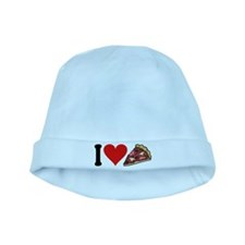 3-ilovepizzablk.png baby hat