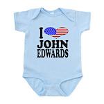 ilovejohnedwardsblk.png Infant Bodysuit