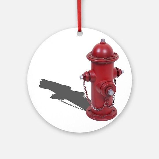 Fire Hydrant Ornament (Round)